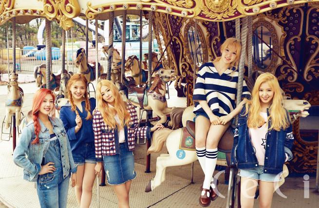 *레드벨벳 CeCi 2015 5월호 화보 <네버랜드로의 봄나들이, 레드벨벳> #. (06컷)
