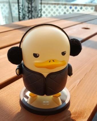 [duckoo]더쿠 검은 깔깔이를 만나다.