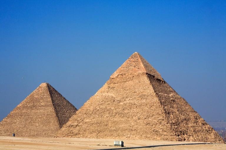 이집트 피라미드의 역사