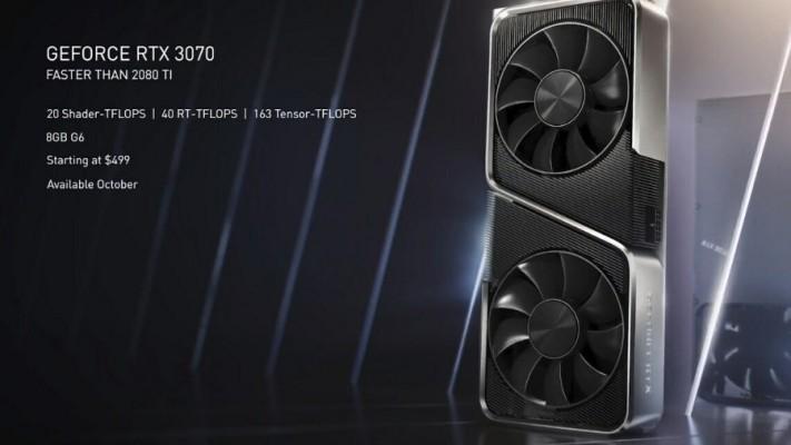 엔비디아, RTX3070 3080 3090 공개 | 블로그