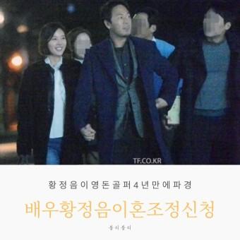 배우 황정음 4년만에 이혼조정, 이영돈은 누구? , 이영돈황정음 이혼이유, 숨겨진이야기?