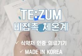 [마감] 비접촉식 체온계 TE:ZUM(티쥼) 최저가 공구 / 의료기기...