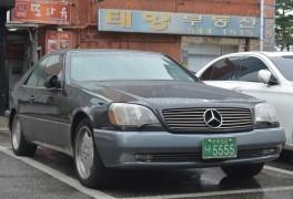 벤츠 C140 CL 클래스 1992-1999 Mercedes-Benz C140 CL-Klasse