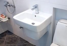 삼성래미안아파트 욕실 세면기교체비용 (대림 CL-350, 국산)