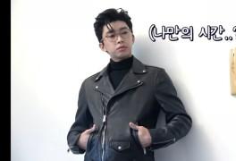 임영웅 안경모델 키싱하트 광고촬영현장~