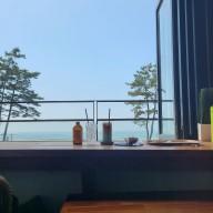 [영흥도 오션뷰 카페] 아이엠카페 장경리해수욕장 갯벌체험까지 할 수 있는 바다뷰카페 ⛱