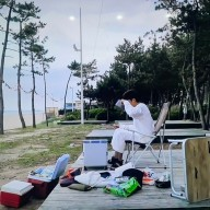 나혼자산다 성훈 캠핑장 [강릉 - 곰앤패들보드] 애견동반 캠핑 & 패들보드 예약