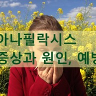 아나필락시스 증상, 원인, 예방