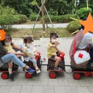 어린이집에서의 기차놀이