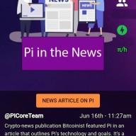 파이코인 pinetwork 암호화폐를 다루는 비트코이니스트에 소개 되다! 파이코인 상장 시세 전망 지갑
