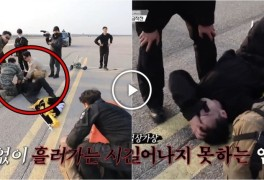 ️ 강철부대 4강 토너먼트 미션 도중 기절한 707 임우영...