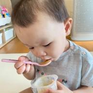 간식으로 폼벨 아기 퓨레 언제부터 먹일까? (W. 아기 과일 시기)