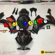 CBR1000RR  2012 신스기모 카울 빨검 무광도색  수입 오토바이 SINSUGIMO