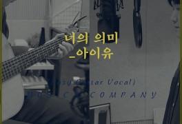 너의 의미 - 아이유ㅣ치기 쉬운 기타코드 타브악보 및 반주...