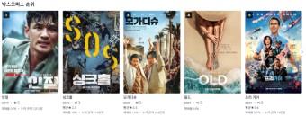 [재난영화]영화 모가디슈, 싱크홀 뭐 볼까 정하기