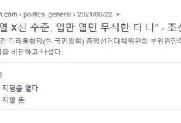 조성은 윤석열 국민의힘 윤석열 X신 수준 입만 열면 무식한...
