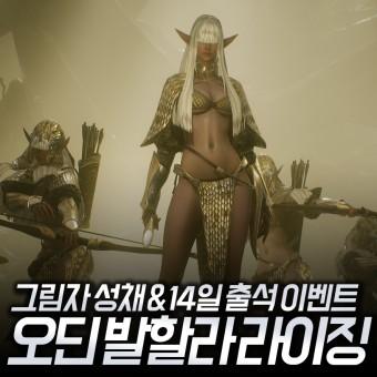 오딘 발할라 라이징 그림자 성채, 14일 출석 이벤트 시작!