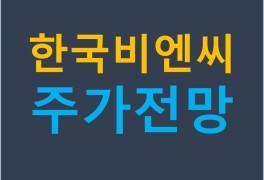 한국비엔씨 주가 전망과 상황별 대응방안