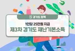 경기도 재난기본소득 지급 안내(코로나 상생 국민지원금 지급...
