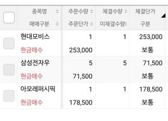 존슨앤존슨 리얼티인컴 삼성전자(우) 매수 / 195만원 플렉스!