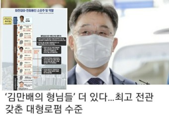 김만배의 형님들' 더 있다…최고 전관 갖춘 대형로펌 수준