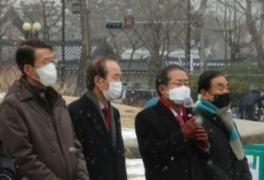 """김문수, 홍준표, 이재오의 '비상시국연대', """"박근혜, 이명박..."""