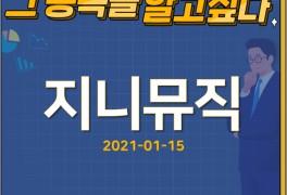 [ 지니뮤직 ] 종목분석