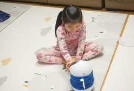 우리집 반려봇 LG클로이와 아들과딸 북클럽 미러링기능 즐기기!