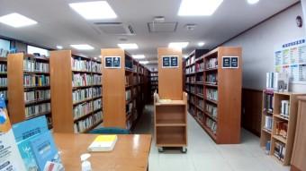 글빛정보도서관 3층 종합자료실(내부사진)