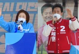 'LH 사태, 김상조 쇼크' 오세훈 박영선 격차 더 벌어져....