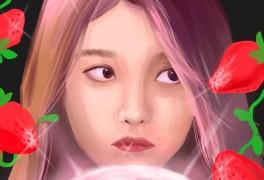 Strawberry Moon 스트로베리 문 아이유 팬아트