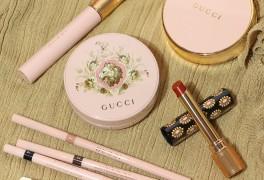 화보 속 아이유 쿠션 & 립 , 구찌뷰티 Gucci beauty