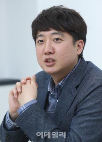 """[인터뷰]`당권주자` 이준석 """"급진적 개혁 이룰 것…참모 역할은 그만"""""""