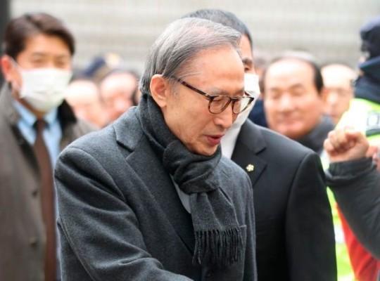 이명박 전 대통령 오늘 대법 선고, 2심은 징역 17년 | 포토뉴스