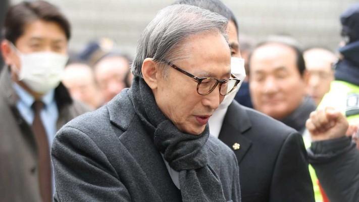 '다스 횡령 · 삼성 뇌물' MB 대법원 선고…재구금 가능성 | 포토뉴스