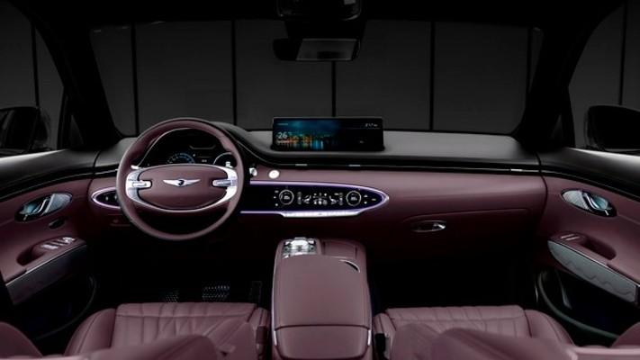 제네시스, 중형 SUV 'GV70' 디자인 최초 공개 | 포토뉴스