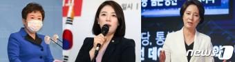 """'최고위원 출마' 정미경·배현진·이영 """"혁신해야 대선 승리"""" 한목소리"""