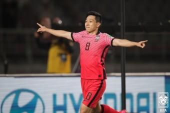 [대한민국vs투르크] '황의조 멀티골' 벤투호, 투르크메니스탄 상대 5-0 압승...조 1위