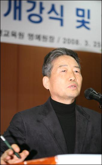 '명심보감서 삶을 배우라!'…김병조, 제주특강