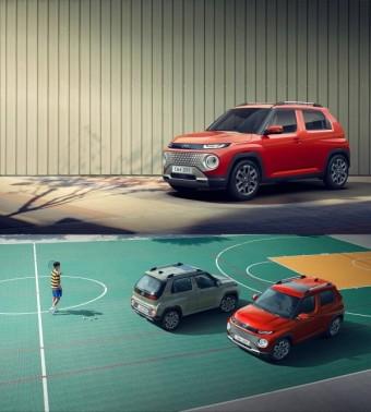 현대차, 첫 경형 SUV '캐스퍼' 공개...실용성·안전성 두 토끼 잡았다