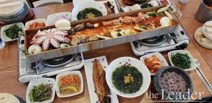 제주도 여행에서 맛보는 '전복 통문어 통갈치조림' 맛집, 중문 관광단지 색달식당