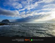 제주도 송악산의 아침 : 일출명소