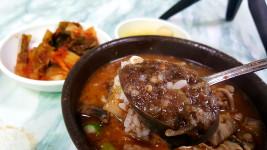 제주도 동문시장맛집 50년전통 순대국밥전문점 광명식당
