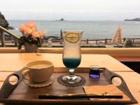 [제주도] 에메랄드빛 바다가 보이는 제주도 서귀포시 오션뷰 카페 지도...