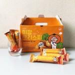 [1+1] 미깡크리스피 크리스피롤 제주도 어린이 간식 제주 기념품 선물 특산품 : 오달콤제주