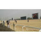 중단된 경마 경기장 서울토요경마