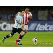 파라과이, 코파아메리카 우승후보 아르헨티나와 무승부 코파아메리카파라과이