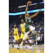 NBA 밀워키, 골든스테이트에 골든스테이트 워리어스 티켓 23점 차 대승 골든스테이트 워리어스 티켓