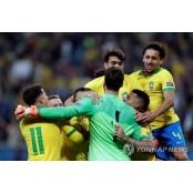 브라질, 승부차기서 파라과이 꺾고 코파아메리카 코파아메리카파라과이 4강