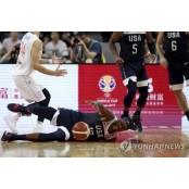 몰락한 디펜딩 챔피언…미국 골든스테이트 몰락 농구, 월드컵 순위결정전에서도 골든스테이트 몰락 패